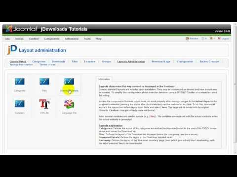 JDownloads Tutorial: Use Custom Fields In JDownloads
