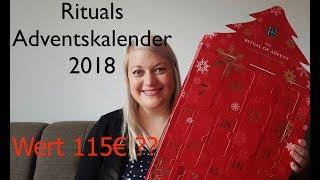 UNBOXING Rituals Adventskalender 2018|Alle 24 Türchen öffnen|Preis 59,50€ Wert 115€?|Tiffys Welt