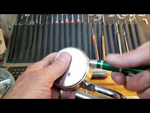 Взлом отмычками Mul-T-Lock pad lock  (296) MUL T LOCK pad lock Loaner from Trekmaster 30 spp