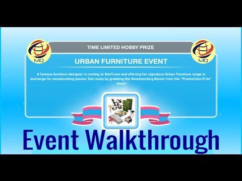 The Sims FreePlay - Urban Furniture Event Walkthrough