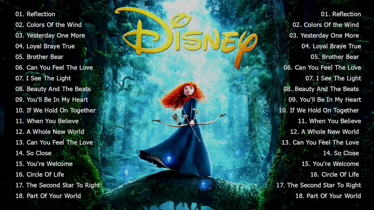 The Ultimate Disney Classic Songs Playlist With Lyrics 2020 - Disney Soundtracks Playlist 2020