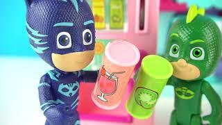 PİJAMASKELİLER OYUNCAK İÇECEK MAKİNESİ   Gece Ninjası ve Pijamaskeliler