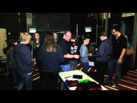 Lights, camera, action - youngsters take sneak peek behind the scenes at Brighton's Theatre Royal