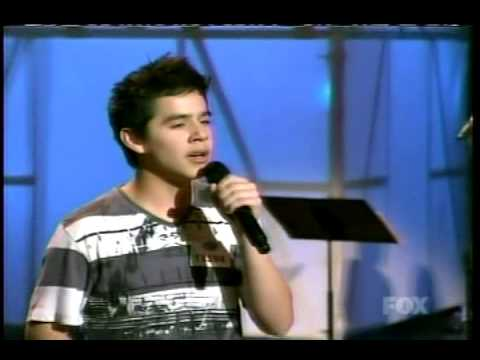 "2. Hollywood Rounds - ""Heaven"" by David Archuleta"