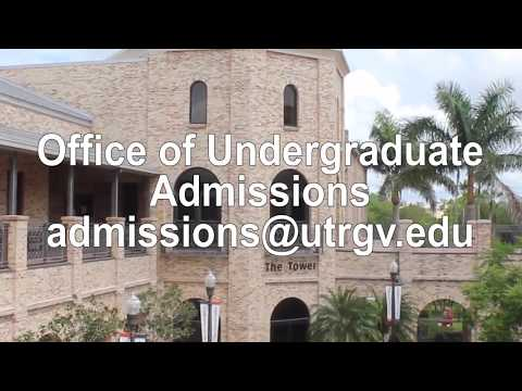 UTRGV ApplyTexas Freshman Admissions