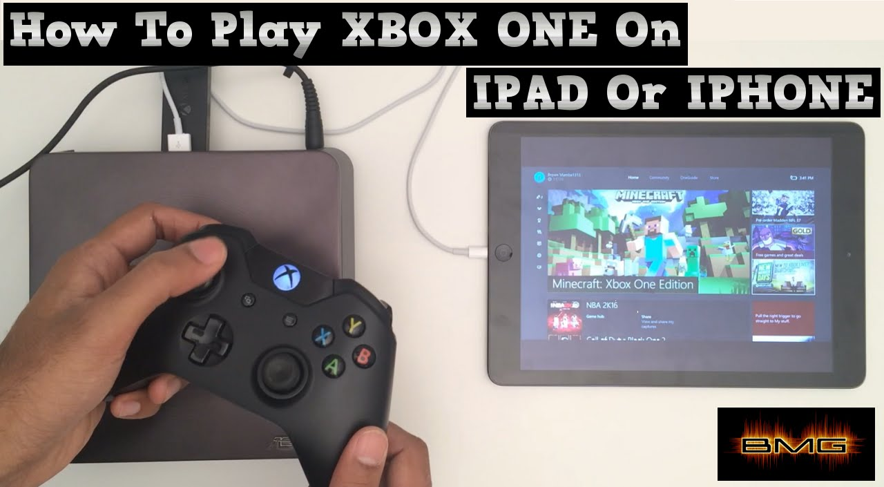 How to Play or Stream Xbox One on to Ipad or Iphone - YouTubeXbox 360 Controller App For Iphone