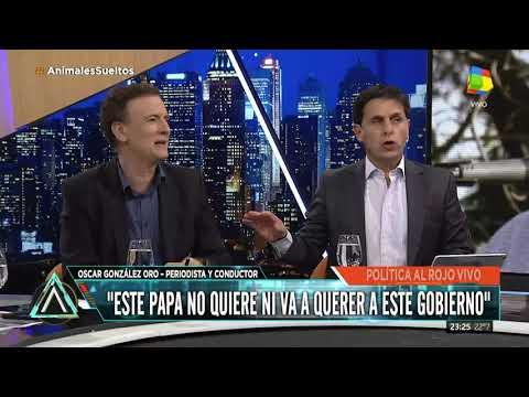 González Oro: El Papa está jugando en contra de Macri