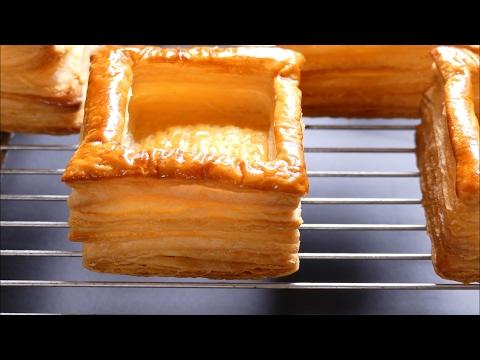 recette-montage-des-bouchées-pâtissières---charcutières---vol-au-vent-tuto