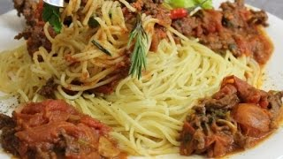 Паста болоньезе. Итальянская кухня