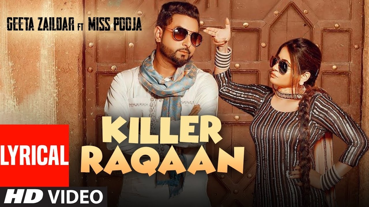 Download Killer Raqaan (Lyrical) Geeta Zaildar | Miss Pooja | Jassi X | Sardaar Films | Latest Punjabi Song