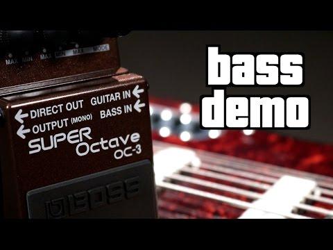 Boss OC-3 Super Octave Bass Demo