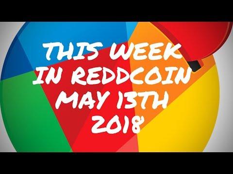 This week in Reddcoin 2018 05 13