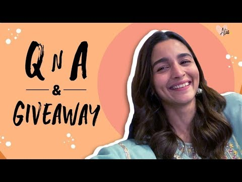 Alia Bhatt's QnA & Giveaway | 1 Million Subscribers | Alia Bhatt Mp3