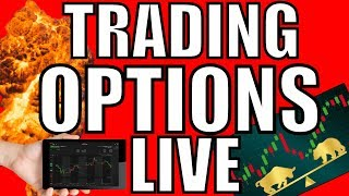 Day Trading Live  & Stock Market News Updates – Will The Stock Market Crash Or BTFD?  Option Trading