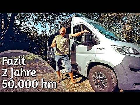 Conclusion after 2 years: Westfalia motorhome - Fiat Ducato van
