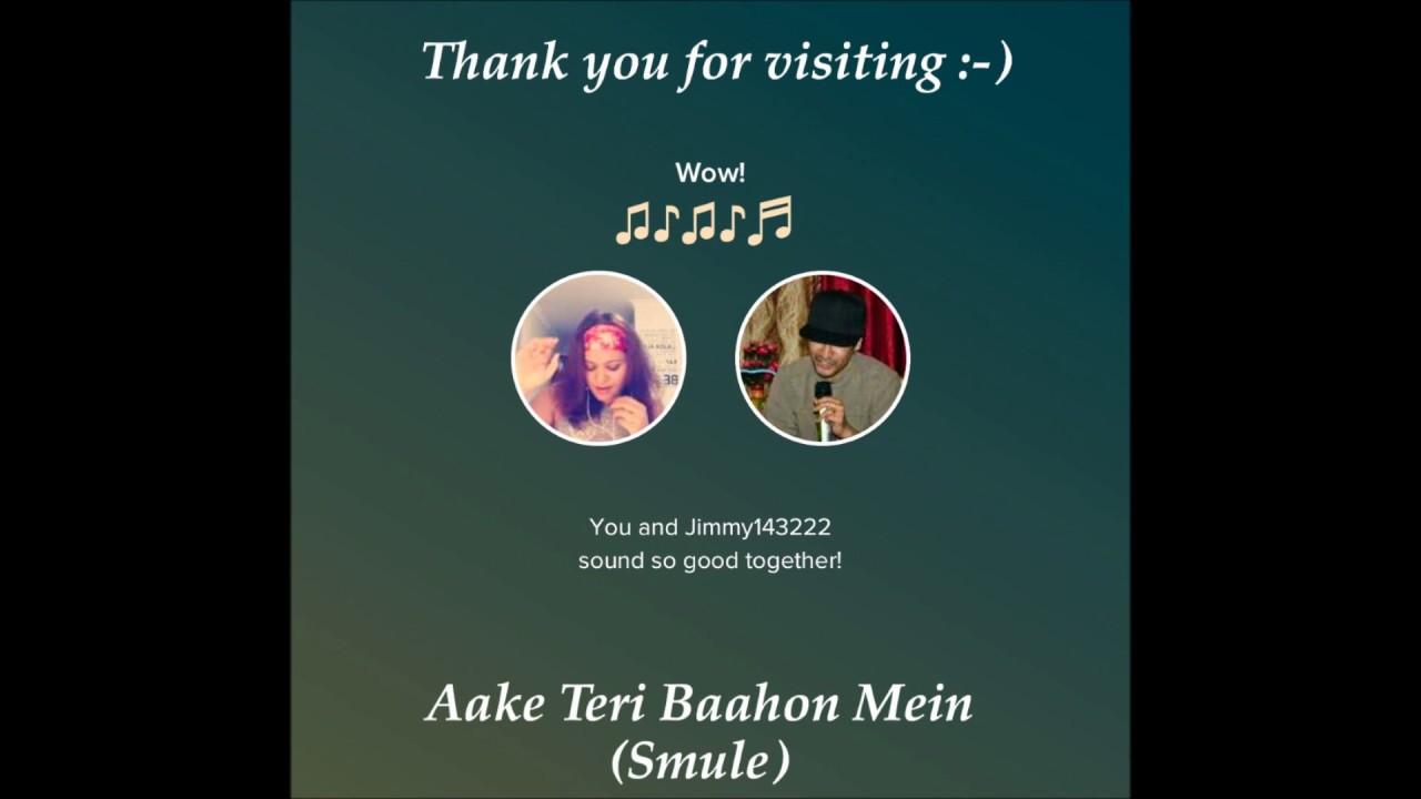 Aake Teri Baahon Mein S P Bala Karaoke