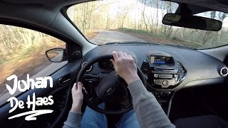 Ford KA+ Ultimate 85hp POV test drive GoPro