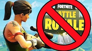 BAD NEWS for FORTNITE and Battle Royale...