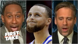 Stephen A. calls out Max for 'absolutely asinine' take on Warriors' dynasty being over | First Take
