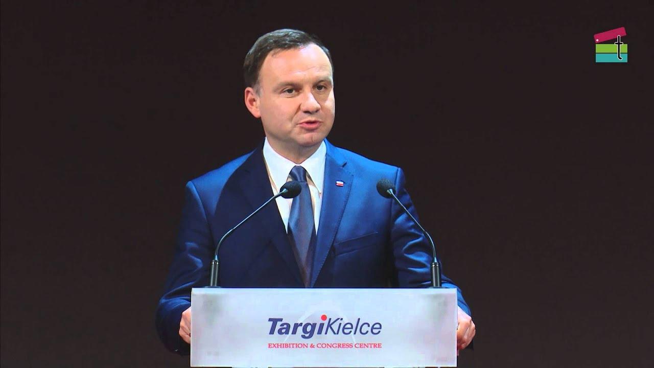 Prezydent Andrzej Duda - XXIII Międzynarodowy Salon ...