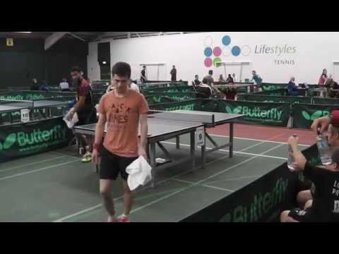2014 Liverpool Table Tennis Open Mens Band 1 Final