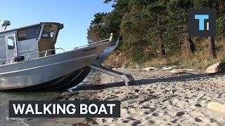 Walking boat ramp gets you to shore without getting wet