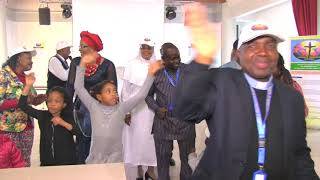 CELEBRATING LIVE THE OPEN DAY OF CATHOLIC TELEVISION OF NIGERIA IN ITALY
