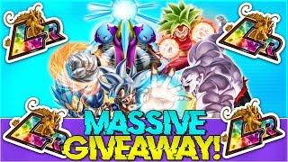 MASSIVE LR DOKKAN BATTLE GIVEAWAY! Collab Giveaway Part 2! | Dokkan Battle Giveaway! #Pickles