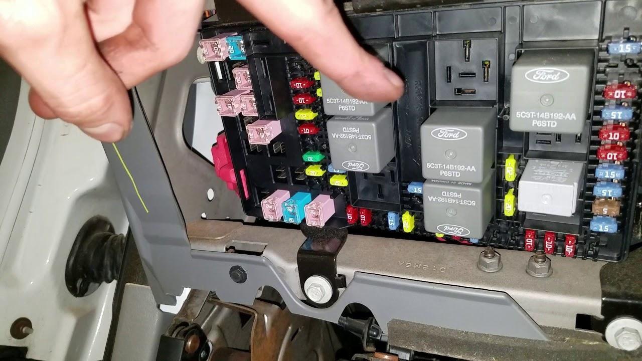medium resolution of 2004 f350 starter fuse