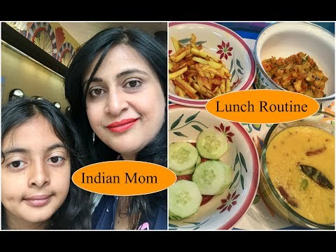Indian Daily Lunch Routine  | Indian Mom Lunch Routine | Simple Living Wise Thinking