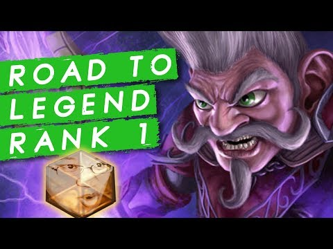 Aiming For Legend Rank 1! Let's Go! | Rastakhan's Rumble | Hearthstone