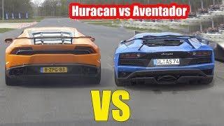 LAMBORGHINI HURACAN vs LAMBORGHINI AVENTADOR S - V10 or V12?😍