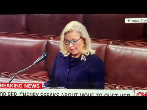 Rep Liz Chaney Speech On House Floor On Eve Of Vote To Oust Her From House GOP Leadership