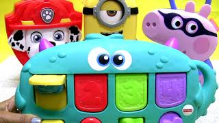 Surprise Toys Carry Case Kinder egg George Pig Minion and Mashal from Paw Patrol