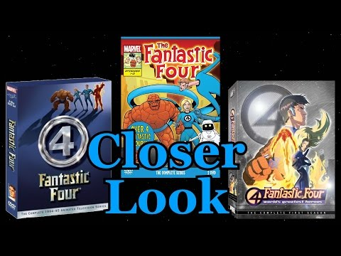 A Closer Look - Fantastic Four Animated Series' DVDs