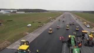 Sanierung der Start- und Landebahn am Paderborn-Lippstadt Airport