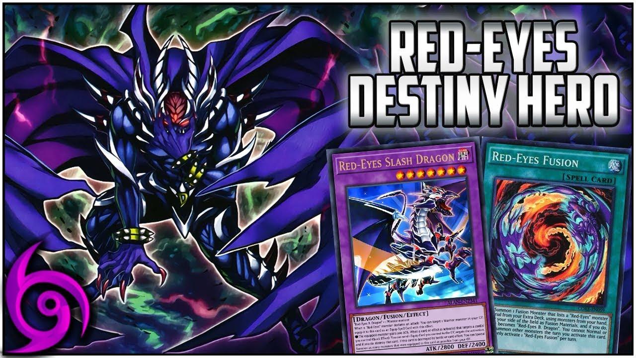 Red Eyes/Destiny Hero Deck! [Yu-Gi-Oh Duel Links]
