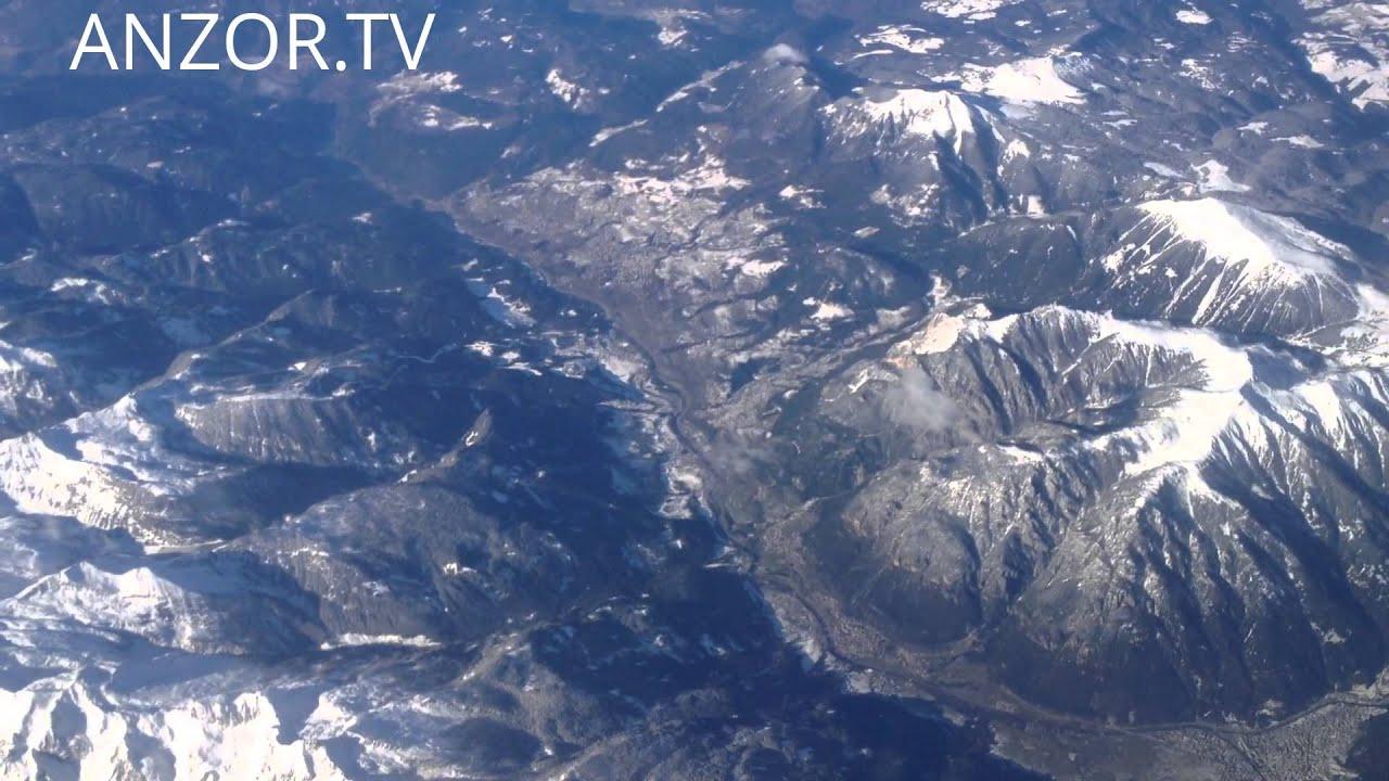 Удивительные Горы... вид с самолета...