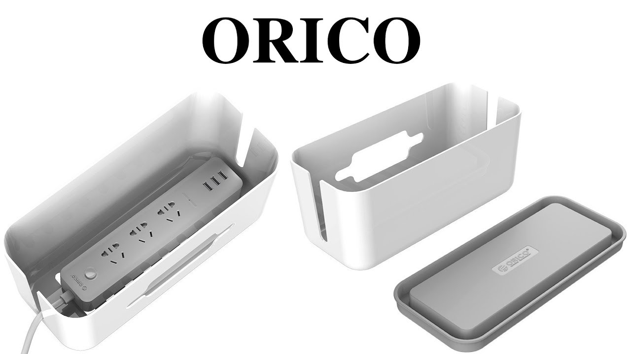 ORICO Cable Management Box And Storage Case! - YouTube