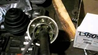 видео Приводной вал Volvo S40 II правый 1