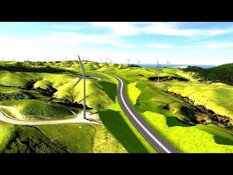 Te Ahu a Turanga: Manawatū Tararua Highway indicative route flythrough animation