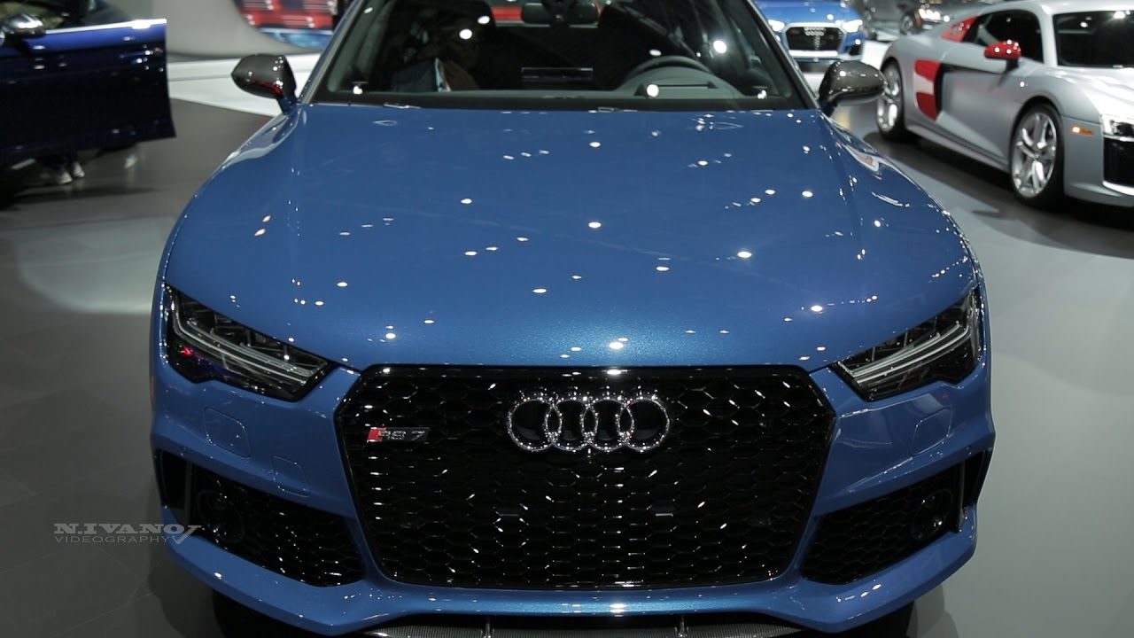 2018 Audi RS7 - Exterior and Interior Walkaround - NYIAS ...