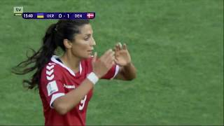 Ukraine vs. Denmark ∞ 2019 WWC Qualification