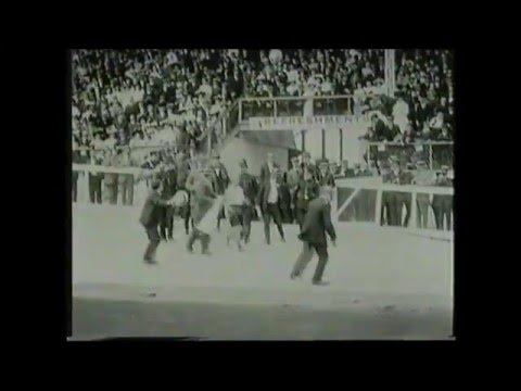 Controversial Finish to the 1908 Olympic Marathon