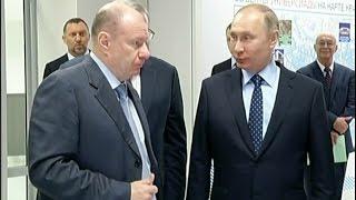 Владимиру Путину показали объекты Универсиады-2019