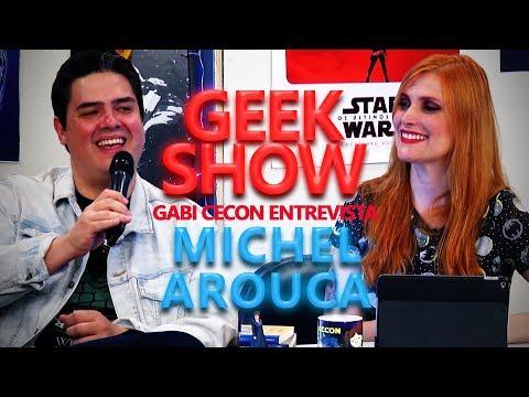 Geek Show - Talkshow com o convidado Michel Arouca do Série Maníacos