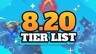 Best Champions - Patch 8.20 Tier List