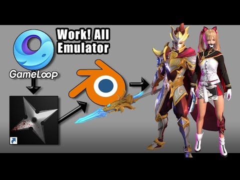 Tips Bongkar Asset 3d Game Menggunakan Emulator & NinjaRipper 1000% Work