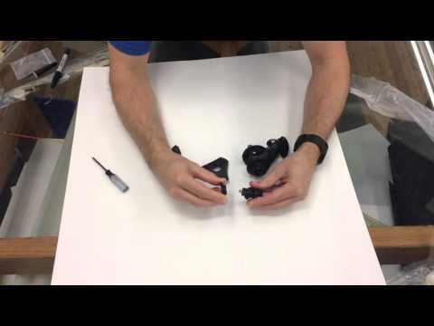 Flymount Generation 4, how to change GoPro adapter to Tripod adapter