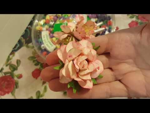 Easy Handmade Flower Stamen n Greenery